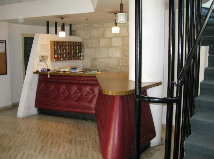 The Mount of Olives Hotel reception is open for check-in and check-out 24-hours a day seven days a week.
